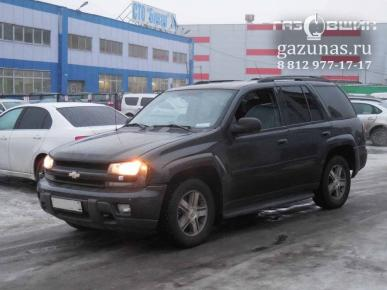 Chevrolet TrailBlazer I (GMT800) (дорестайл) 4.2i (295Hp) 2006г.в.