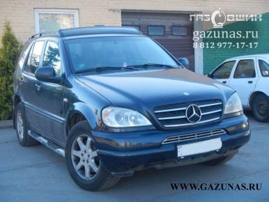 Mercedes-Benz ML430 I (W163) (дорестайл) 4.3i (272Hp) 2001г.в.