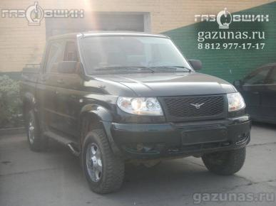УАЗ Patriot Pickup I (дорестайл) 2.7i (128Hp) 2010г.в.