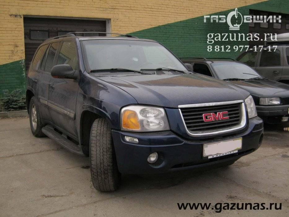 GMC Envoy II (GMT360) 4.2i (273Hp) 2003г.в.