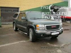 GMC Sierra II (GMT800) 5.3i (288Hp) 2004г.в.