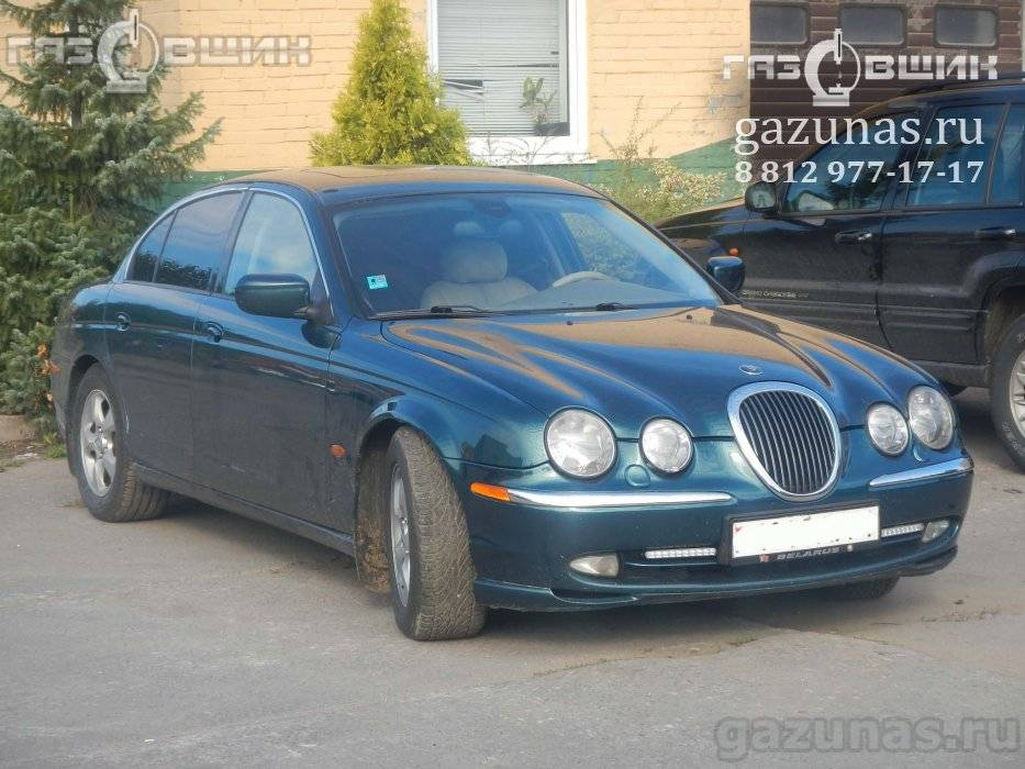 Jaguar S-type I (дорестайл) 3.0i (238Hp) 2001г.в.