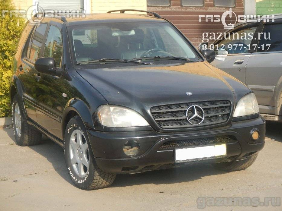 Mercedes-Benz ML430 I (W163) (дорестайл) 4.3i (272Hp) 1999г.в.